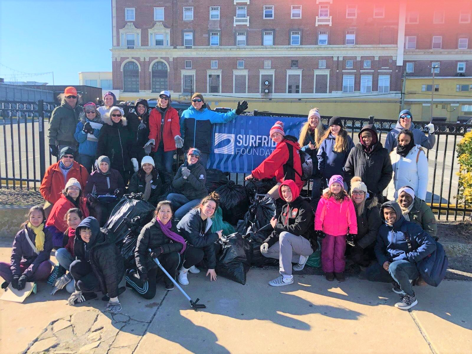 MLK Day of Service Cleanup a Huge Success